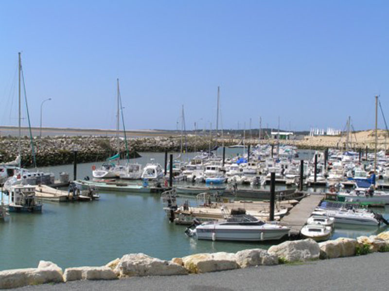 The marina at La Palmyre